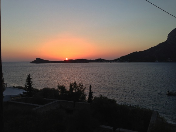sunset kalymnos