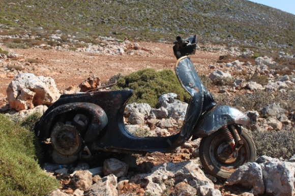 Kalymnos scooter
