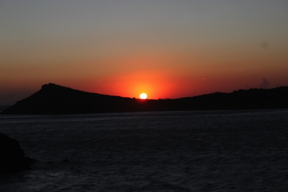 Kalymnos sunset