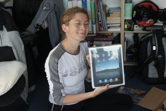 Kati iPad dobozzal