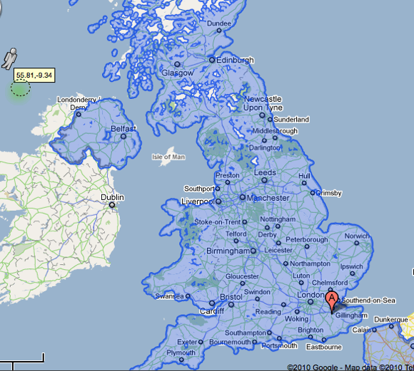 Google Street View UK