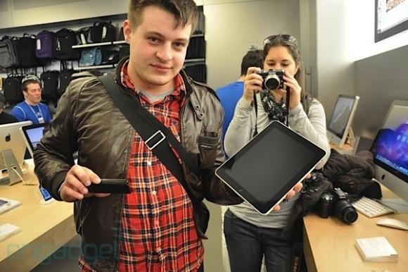iPad New Yorkban