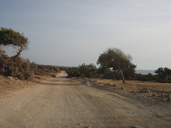 Hegyi út Cipruson