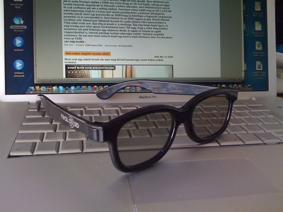 3D szemüveg